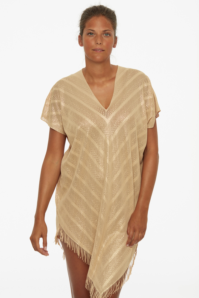 Perfect Poncho Gold