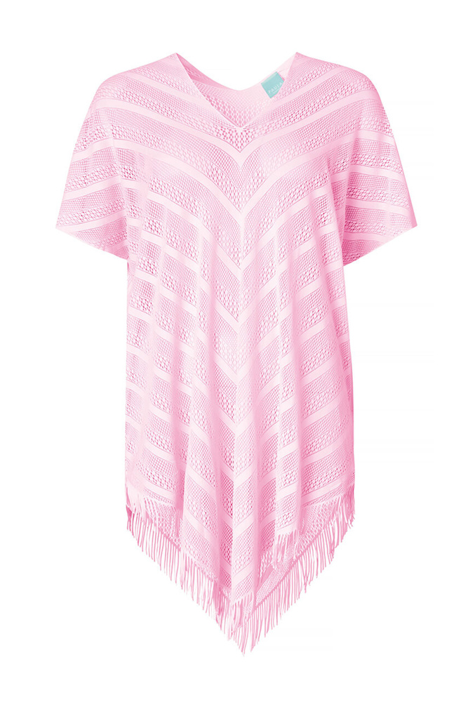 Perfect Poncho Pink
