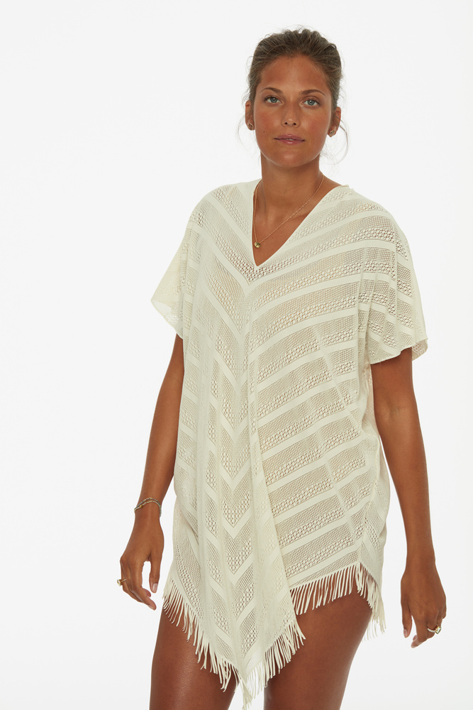 Perfect Poncho Ivory